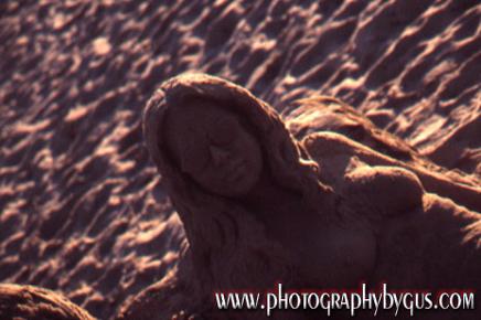 Sand Sculpture, Carmel, California File# invsand1